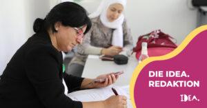 Wie ermöglicht IDEA die Teilhabe von Migrantinnen im Projekt?