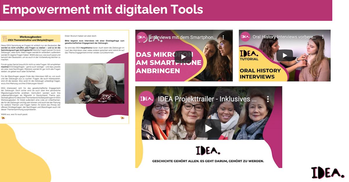 IDEA bei den Young Professionals für Digitale Geschichtskultur